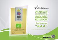 Por su cumplimiento con los parámetros de calidad exigidos por Corporación Mucho Mejor Ecuador