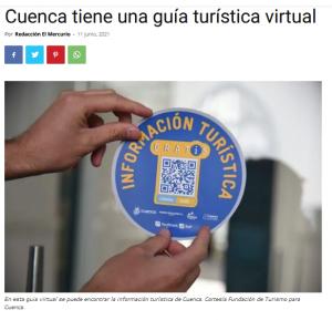 Cuenca tiene una guía turística virtual