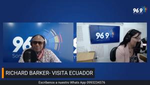 Radio familia || entrevista a richard barker - cruzada por la reactivación turística