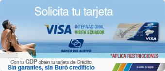 Visa Internacional VisitaEcuador